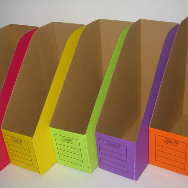 Cardboard Magazine Holders Colored cardboard Seagull 21