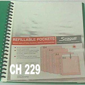 Clear Book Refills