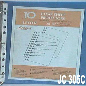 Binder Clear Sheet Protectors